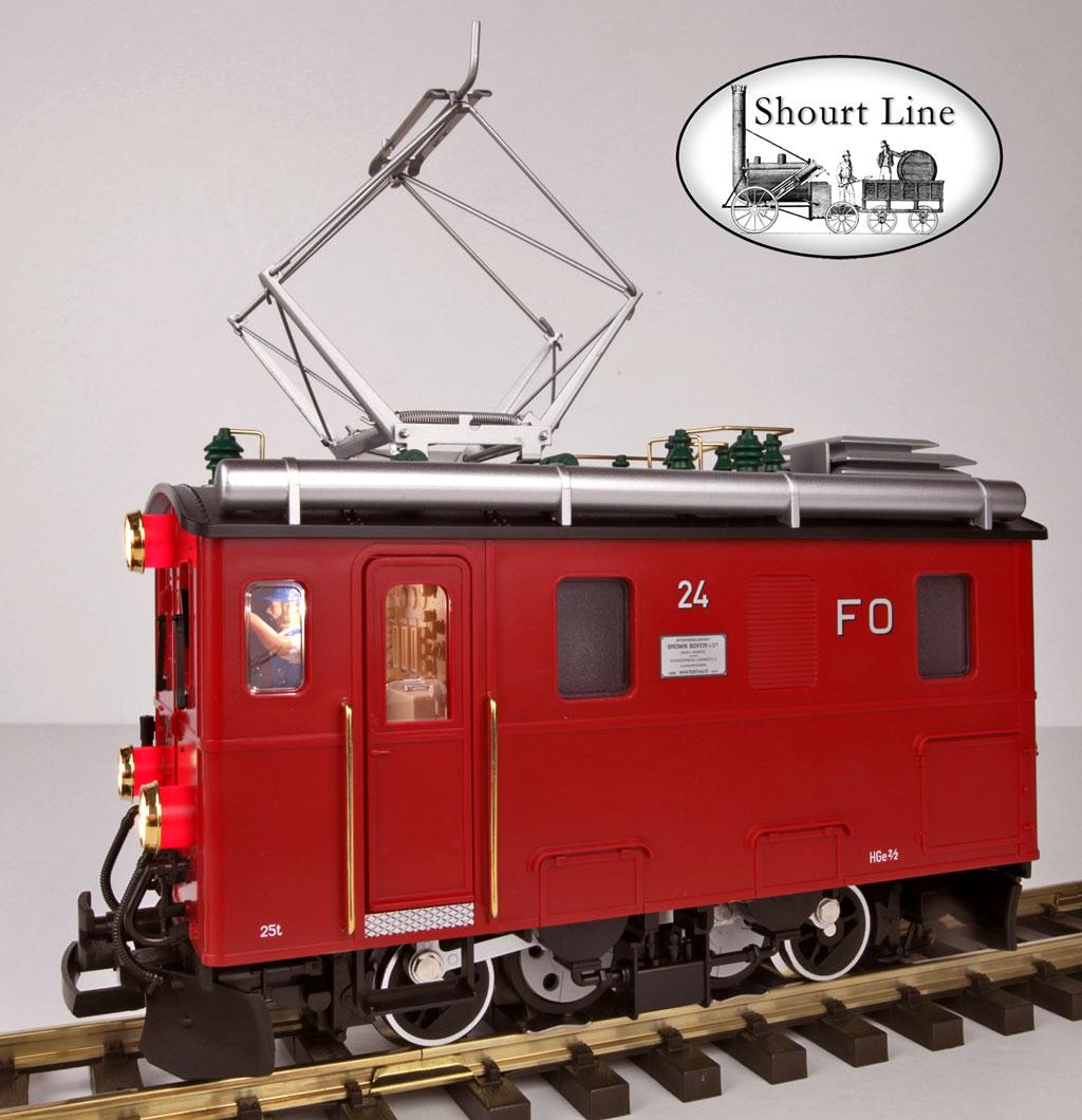 LGB pièces de rechange-LGB 20130 US Locomotive a Vapeur coulissantes encadré Piste G